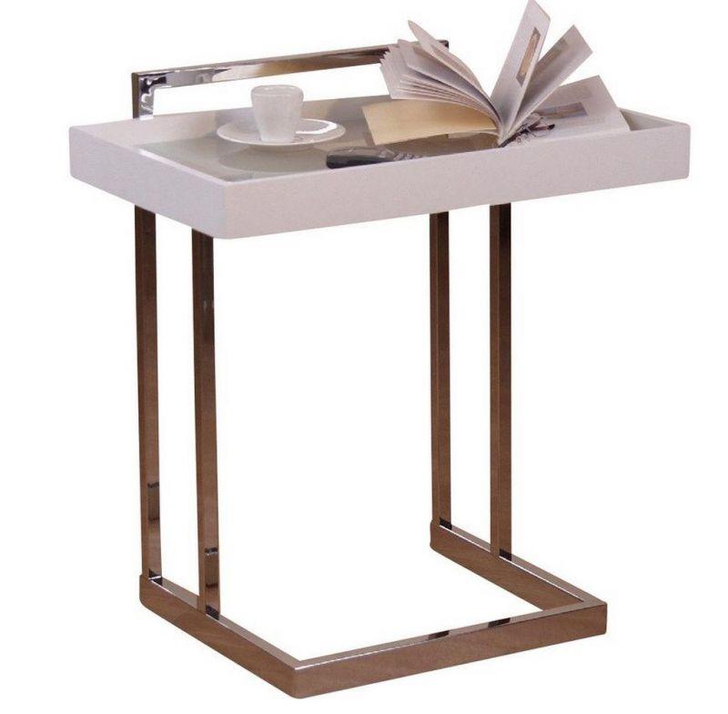 beistelltisch aus metall und schwarzem glas 79 90 ichverkauf. Black Bedroom Furniture Sets. Home Design Ideas