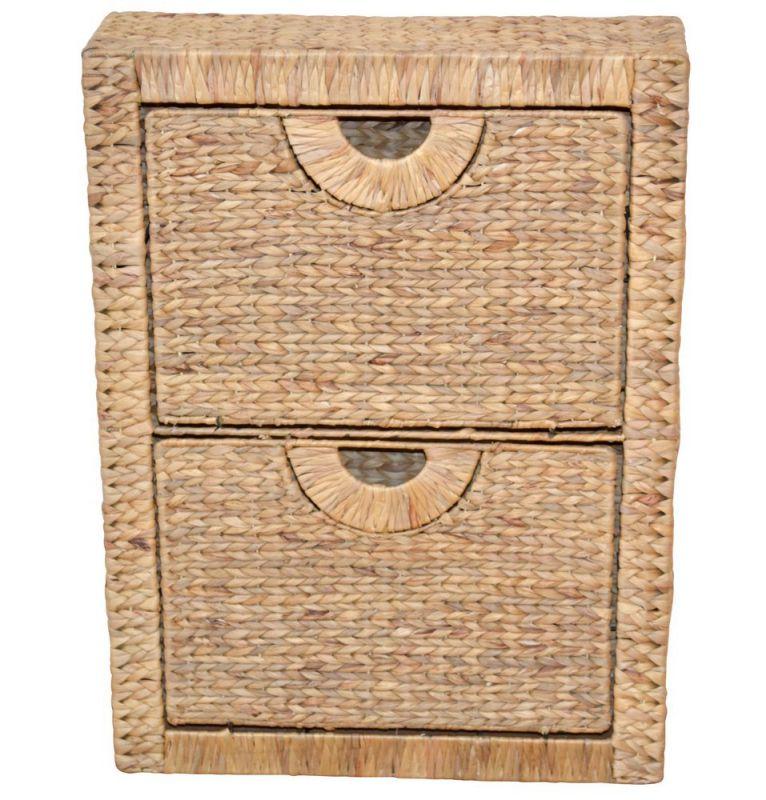 schuhschrank wasserhyazinthe naturfarben lackiert mit 2 k. Black Bedroom Furniture Sets. Home Design Ideas