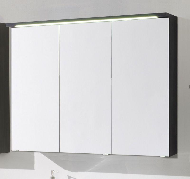 kesper badm bel bali spiegelschrank 3 t rig in graphit stru. Black Bedroom Furniture Sets. Home Design Ideas