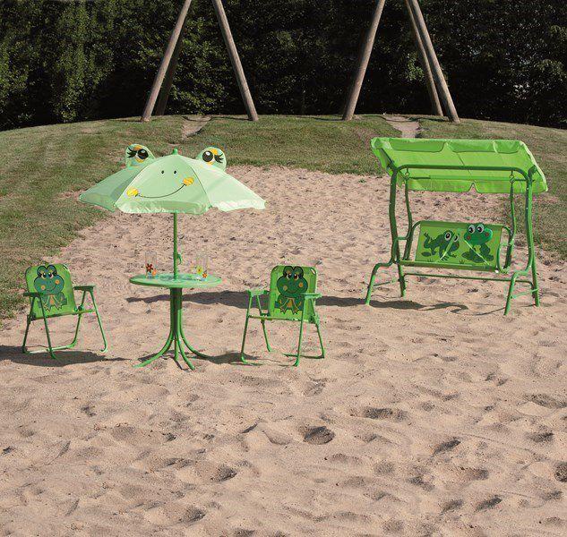 siena garden gartenm bel kinderset froggy froschmotiv 4. Black Bedroom Furniture Sets. Home Design Ideas