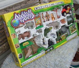 Spiele-Set Animal World Wildwestpark