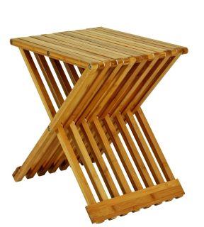 Haku Beistelltisch Aus Bambus Natur Und Integrierter Zeitungsablage