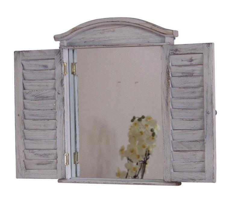 wandspiegel used look antik wei 53 90 ic. Black Bedroom Furniture Sets. Home Design Ideas